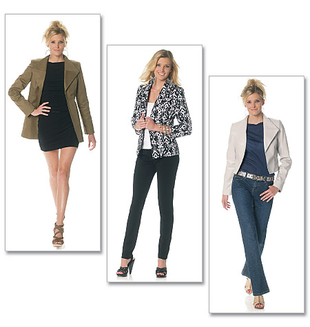 McCall's misses lined jacket 6294
