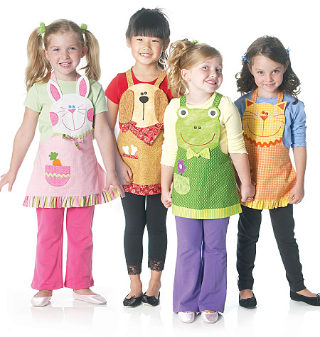 McCall's children's apron 6298