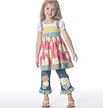 McCalls 6313 Pattern ( Size 6-7-8 )