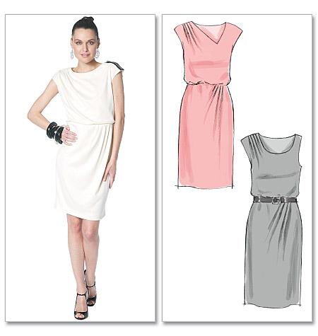 McCall's misses dresses 6319