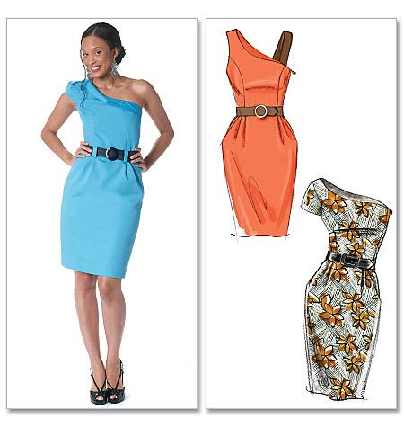 McCall's misses dresses and belt 6320