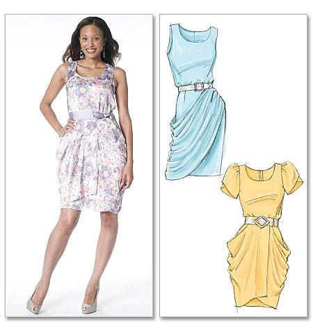 McCall's misses dresses 6321