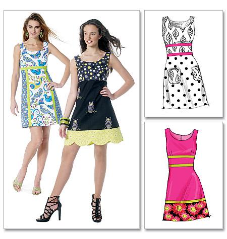 McCall's misses dresses 6322