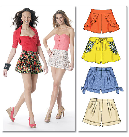 McCall's misses shorts 6328