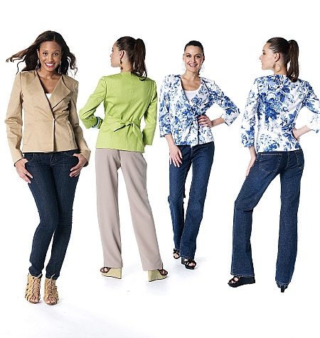 McCall's women's and misses lined jackets 6329