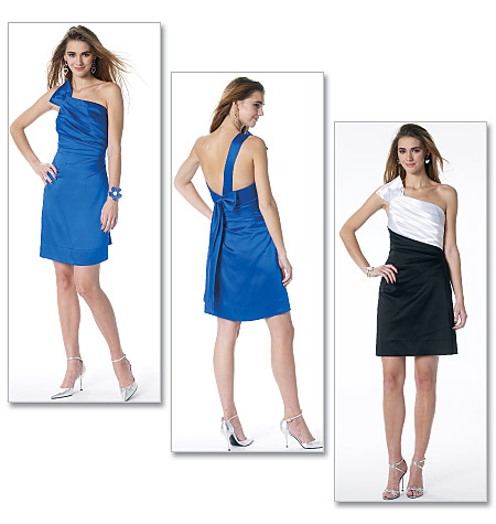 McCall's misses lined dress 6330