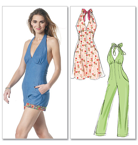 McCall's misses dress, romper and jumpsuit 6332