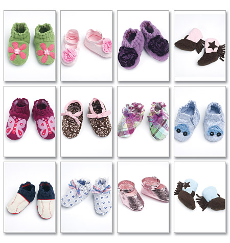 McCall's baby shoes and boots 6342