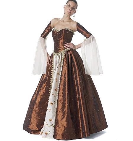 McCall's misses costume 6343