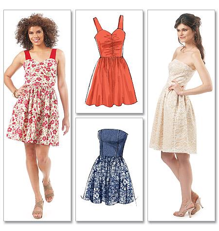 McCall's Misses Dress 6349