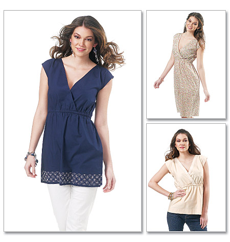McCall's Misses Top, Tunic, and Dress 6354