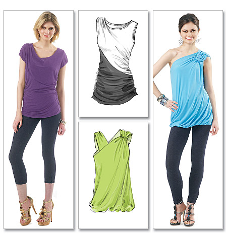 McCall's Misses Tops 6356
