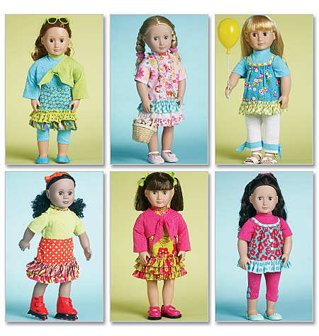 McCall's Doll Clothes 18