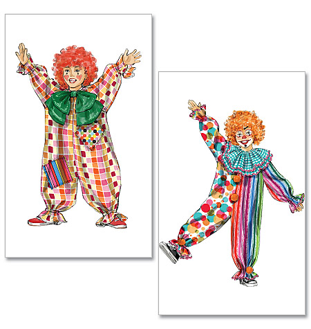 McCall's Clown Costumes 6382