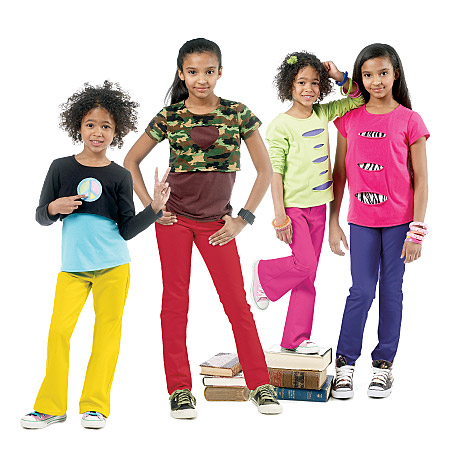McCall's Children's/Girls' Tops and Pants 6390