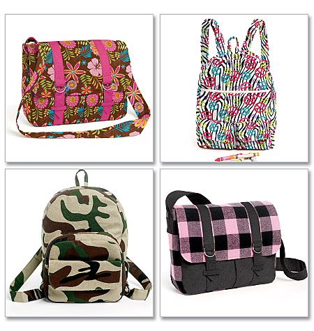 McCall's Backpacks and Bags 6410