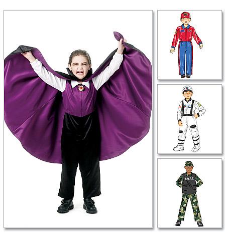 McCall's Children's/Boys' Costumes 6417