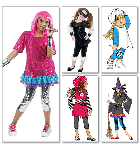 McCall's Children's/Girls' Costumes 6419