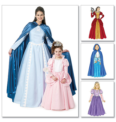 McCall's Misses'/Children's/Girls' Costumes 6420