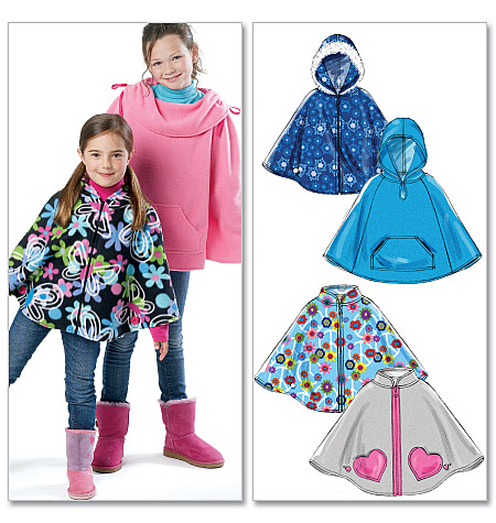 Fleece poncho patterns - Quilting Board