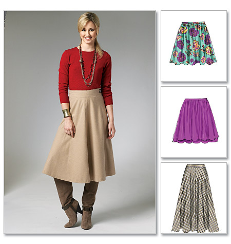 McCall's Misses' Skirts 6438