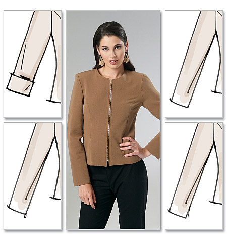 McCall's Misses' Lined Jackets 6441