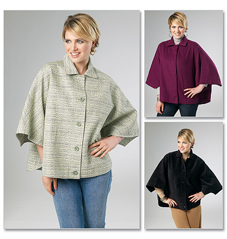 McCall's Misses'/Women's Capes 6447