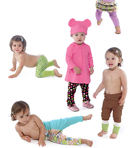 McCall's Infants' Top, Leggings and Hat 6457