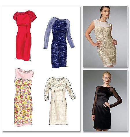 McCall's Misses'/Miss Petite Dresses 6460