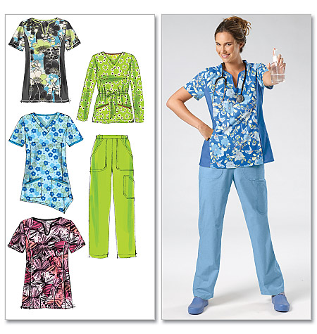 McCall's Misses'/Women's Tops and Pants 6473