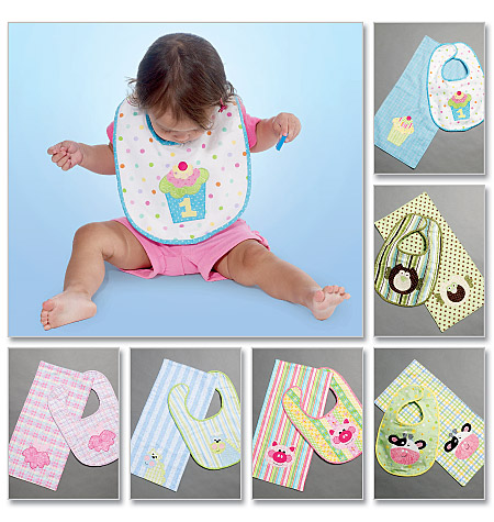 McCall's Bibs and Burp Cloths 6478