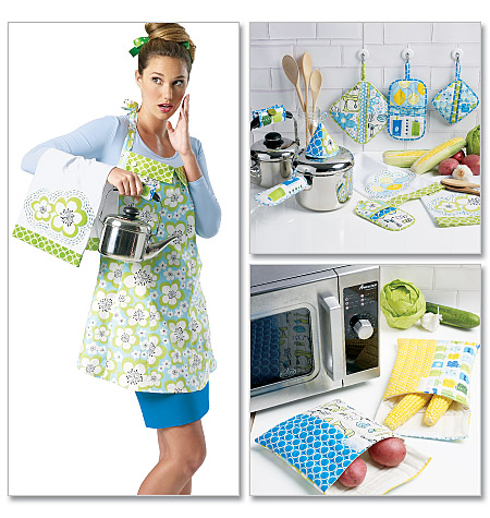 McCall's Apron, Towel, Bags and Potholders 6479