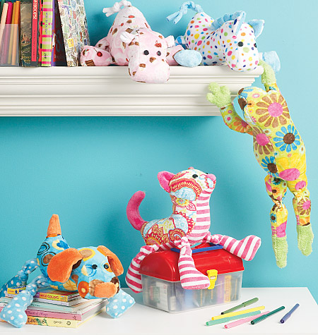 McCall's Stuffed Animals 6485