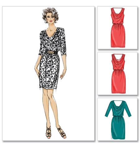 McCall's Misses' Dresses 6489