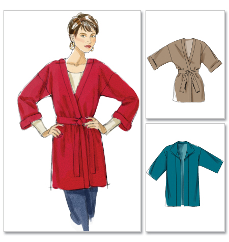 McCall's Misses' Cardigans and Belt 6490