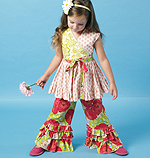 McCalls 6497 Pattern ( Size 2-3-4-5 )