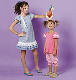 McCalls 6498 Pattern ( Size 3-4-5-6 )