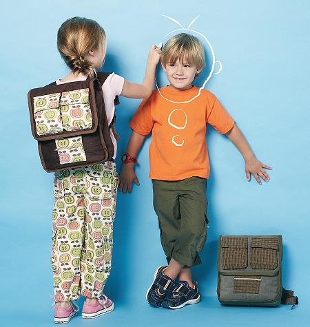 McCall's Children's/Boys'/Girls' Pants and Backpacks 6502