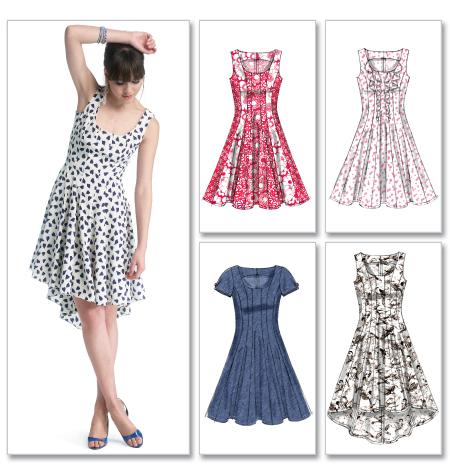 McCall's Misses' Dresses 6504