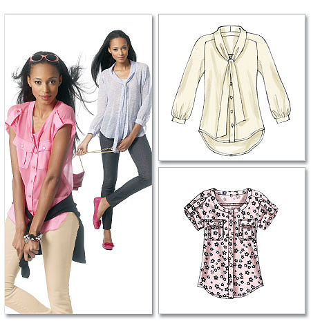 McCall's Misses' Blouses 6512