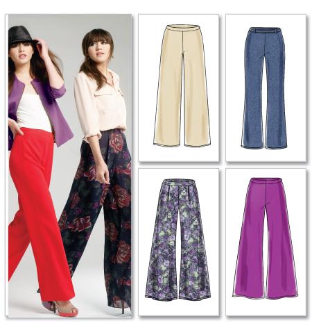 McCall's Misses' Pants 6515