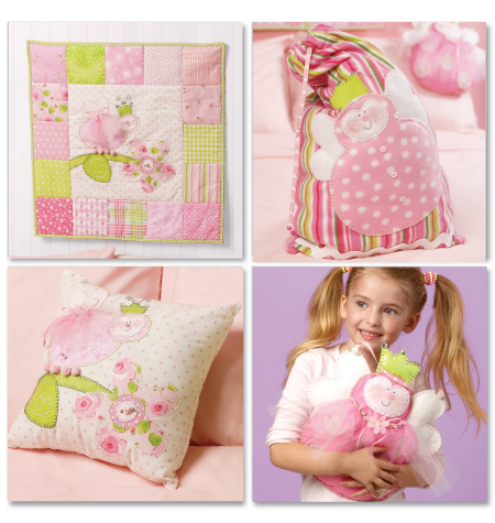 McCall's Pillow, Blanket, Bag and Decoration 6527