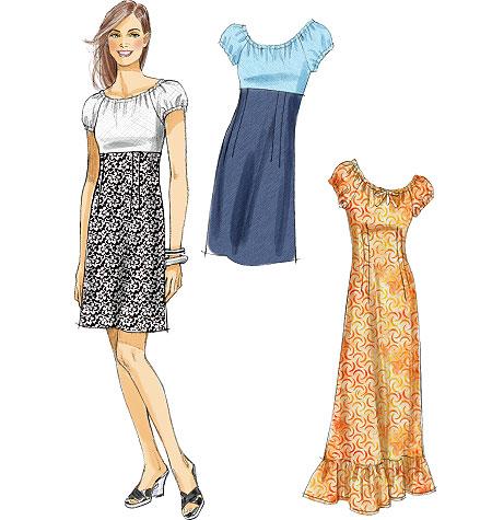 McCall's Misses' Dresses 6534