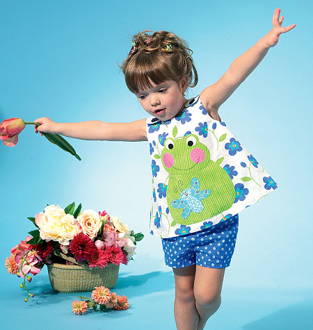 McCall's Infants' Top, Dress, Shorts and Appliqu�s 6541