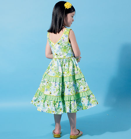 McCall's Children's/Girls' Dresses 6543