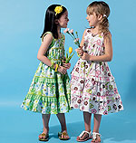 McCalls 6543 Pattern ( Size 2-3-4-5 )