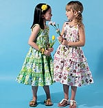 McCalls 6543 Pattern ( Size 6-7-8 )