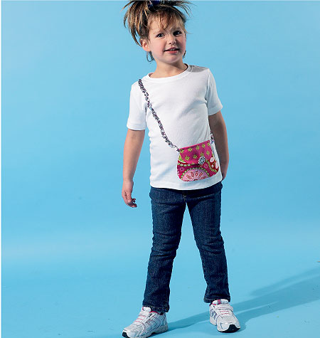 McCall's Children's/Boys'/Girls' Tops and Appliqu�s 6545