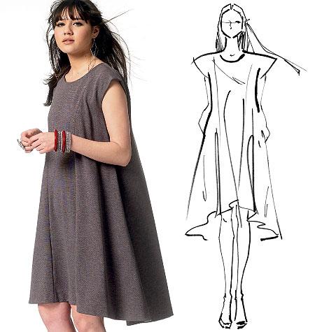 McCall's Misses' Dress and Belt 6553