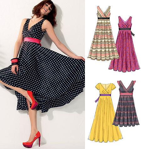 McCall's Misses'/Miss Petite Dresses 6557